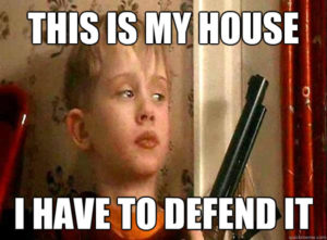 defend my house 300x221 - Ways to Get Good Tenants