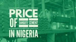 price of dangote cement in nigeria