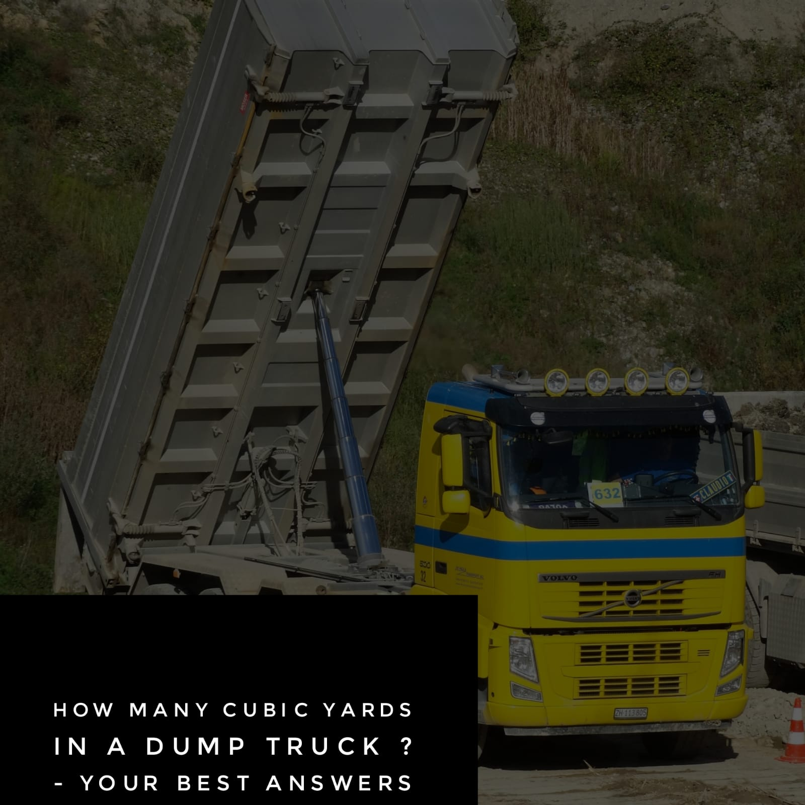 truck - How Many Cubic Yards in a Dump Truck? - ALL YOU NEED TO KNOW !