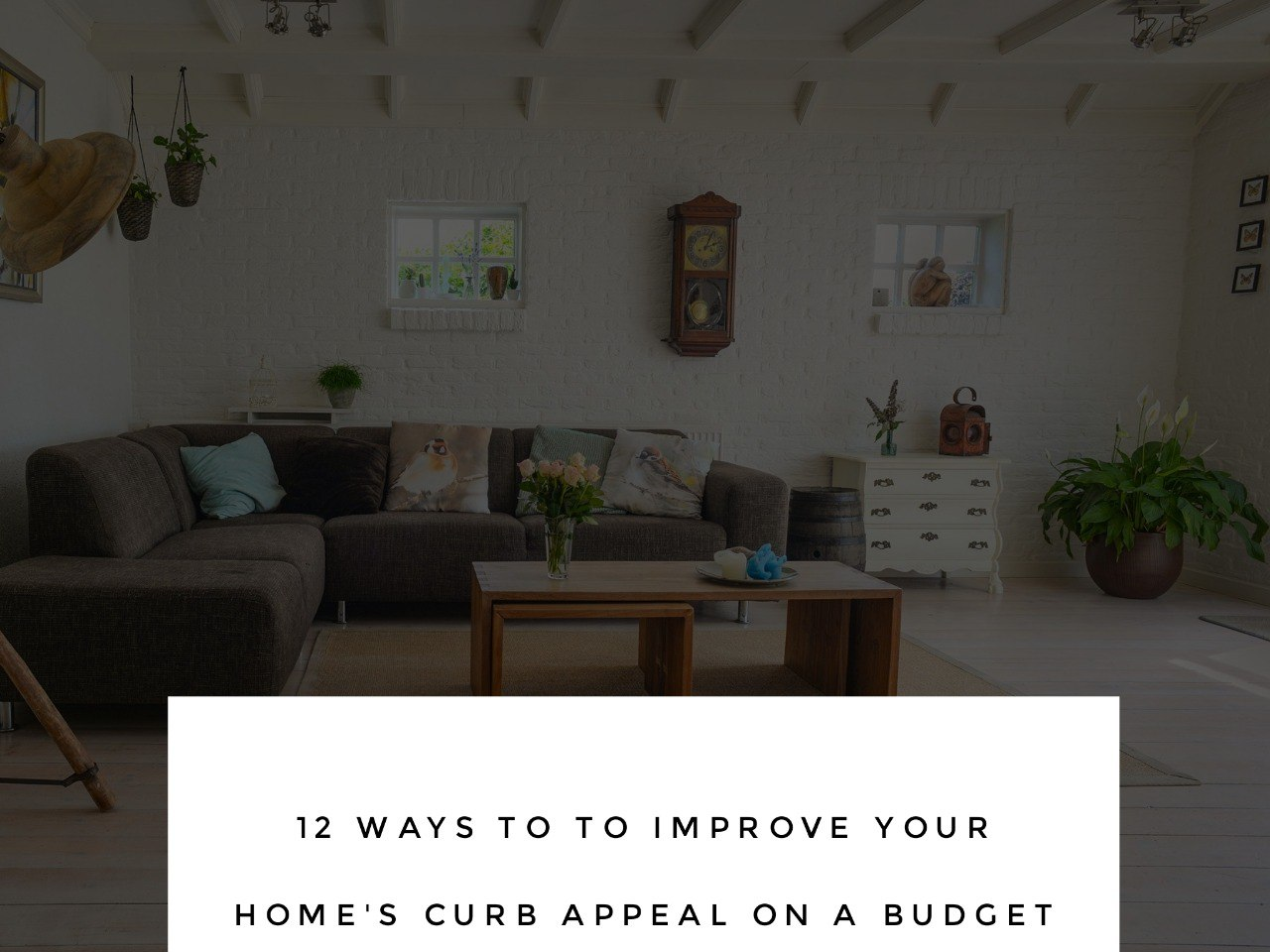 Photo - 12 Ways to Improve Your Home's Curb Appeal on a Budget