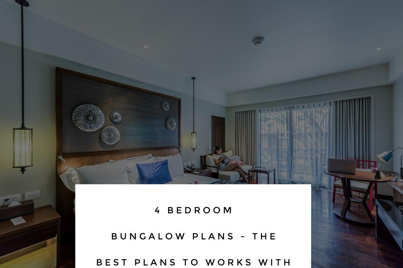 4 Bedroom Bungalow House Plans in Nigeria - 4-Bedroom Bungalow House Plans in Nigeria -[with Pictures]