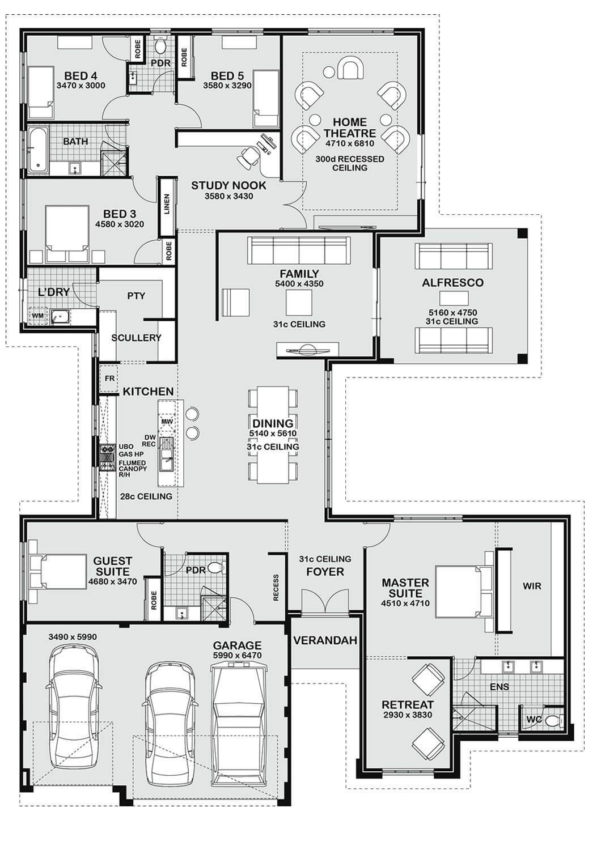 Plan-for-Standard-5-bedroom-Apartment-1