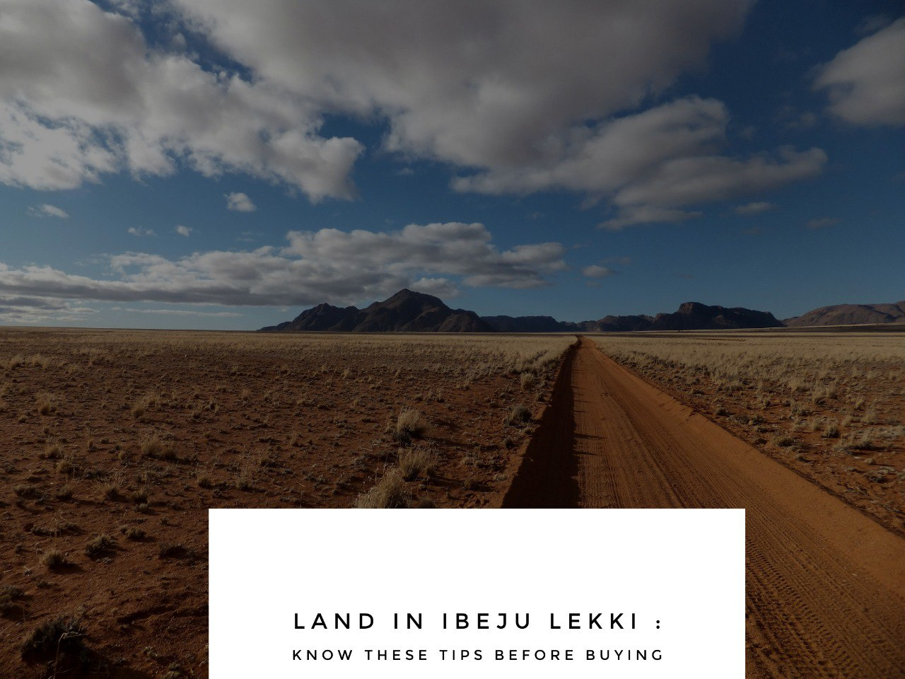 Land in Ibeju Lekki Know these Tips Before Buying - Land in Ibeju Lekki: Know These Tips Before Buying!